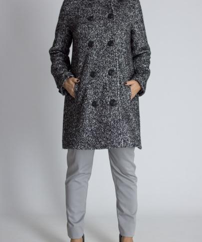 Пальто двухбортное