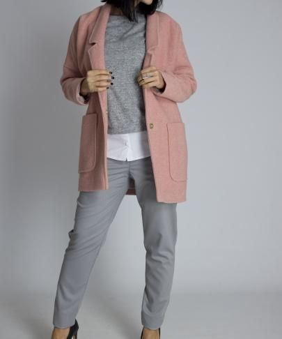 Пальто укороченное