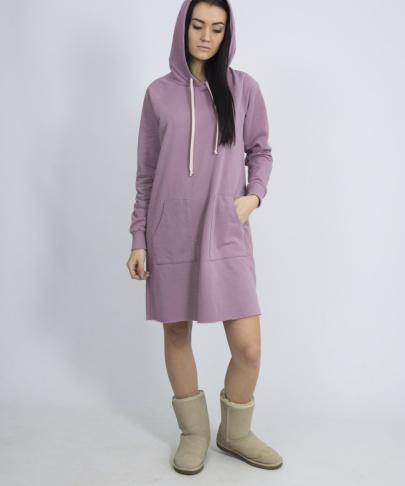 Платье с капюшоном