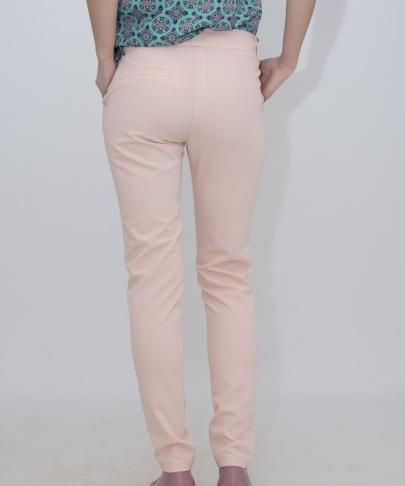 Брюки нежно-розовые