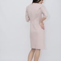 Платье нежно-розовое